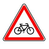 danger vélo poster