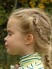 the child's profile