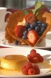 fruit dessert poster