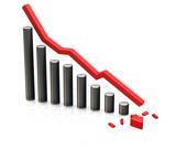 falling profits poster