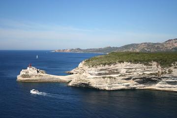 bonifacio harbour mouth