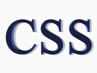 lettering: computer software css