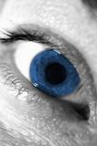 eye blue poster