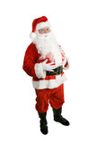 santa claus - full body isolated poster