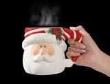 santa claus mug poster