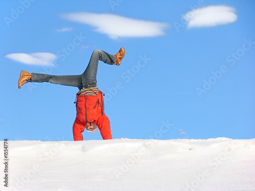 winter cartwheel