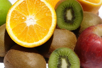 fruits en  compositon
