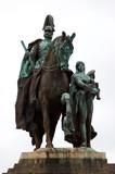 statue von wilhelm i poster
