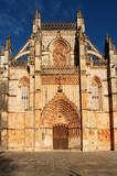 portugal, batalha: famous batalha monastery poster