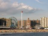 coney island astroland amusement park poster