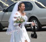 running bride poster