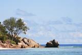 rochers de granit seychelles poster