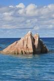 rocher de granit des seychelles poster
