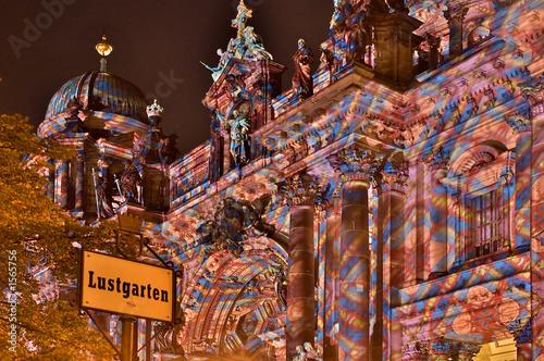 Leinwanddruck Bild berliner dom