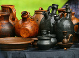 pots from clay poster
