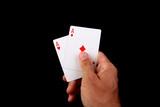 good poker hand poster