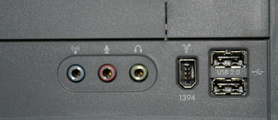 computer peripheral connections