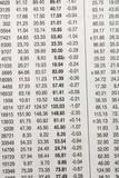 stock data poster