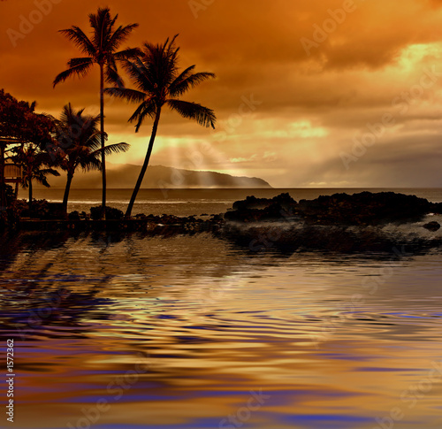 canvas print picture my sunset coast
