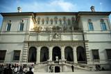 villa boghese museum poster
