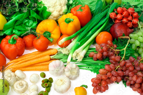 vegetables and fruits arrangement 3