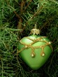chrismas green heart