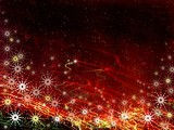 christmas magic background poster