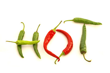 'hot' chili peppers
