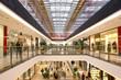 Leinwanddruck Bild - shopping mall
