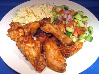 wings and sides