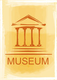 museum icon poster