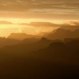 grand canyon at sunset, arizona poster