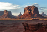 john ford's point in the monument valley, arizona-