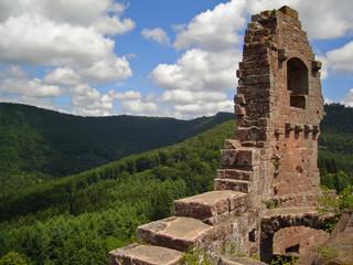 vieux chateau alsace