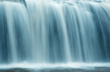 slow motion waterfall poster
