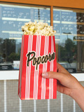popcorn at the movies poster