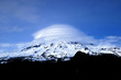 mount rainer clouds