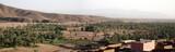 panoramique - route de tata au maroc poster