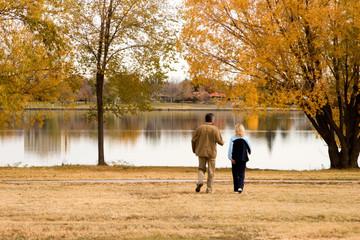 strolling through fall