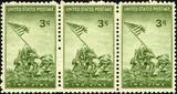 iwo jima 1945 us stamp poster