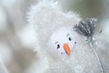 fuzzy snowman poster
