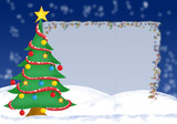 christmas greeting card - 3 poster