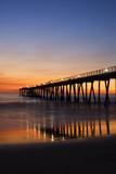 Fototapety sunset in hermosa