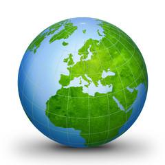 world globe geographic