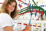 teen painter poster