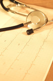 heart monitor report poster