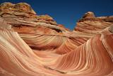 the wave sandstone curves poster