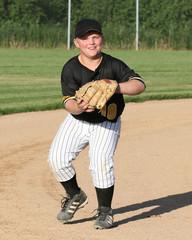baseball boy throwing