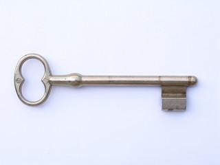 clef blanche d'un portail