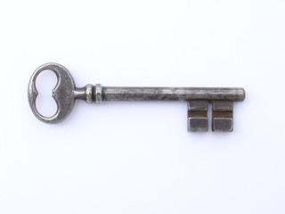 clef noire d'un vielle porte